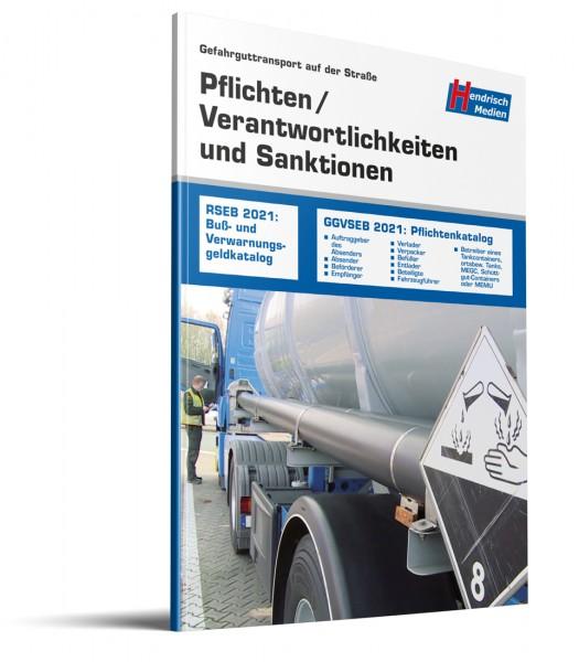 Gefahrguttransport auf der Straße - Pflichten und Verantwortlichkeiten, Sanktionen