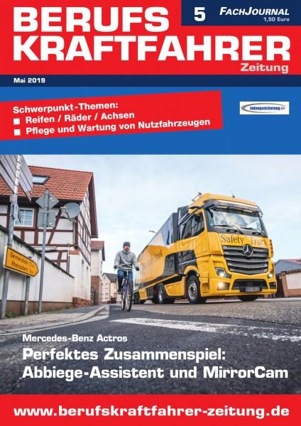Berufskraftfahrer-Zeitung 05/2019