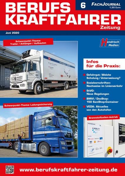 Berufskraftfahrer-Zeitung 06/2020