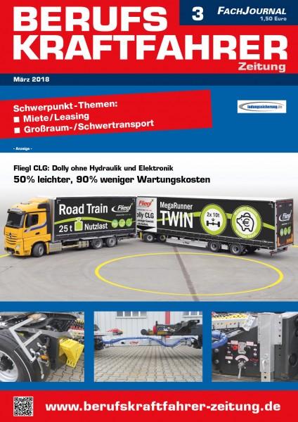 Berufskraftfahrer-Zeitung 03/2018