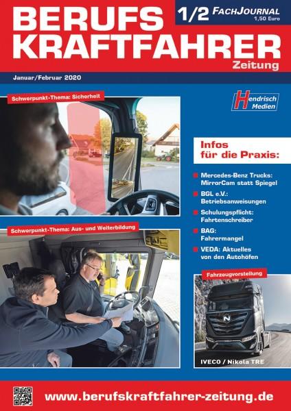 Berufskraftfahrer-Zeitung 01-02/2020