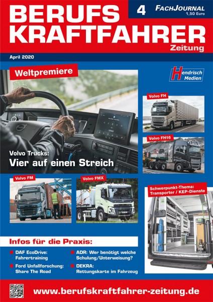 Berufskraftfahrer-Zeitung 04/2020