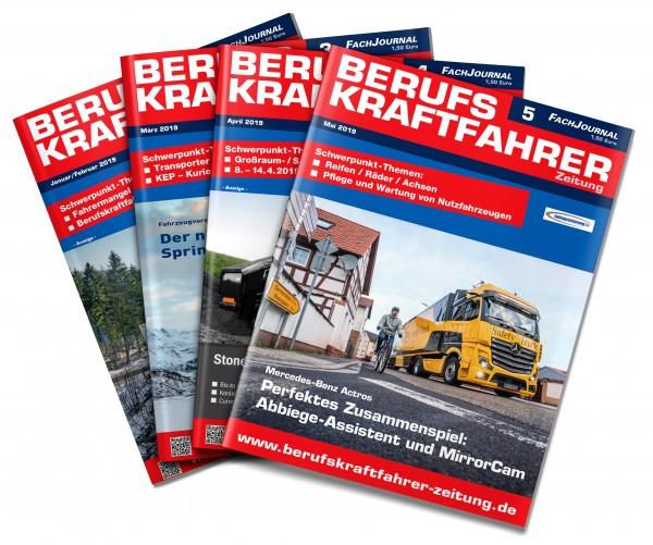 Jahresabo Berufskraftfahrer-Zeitung
