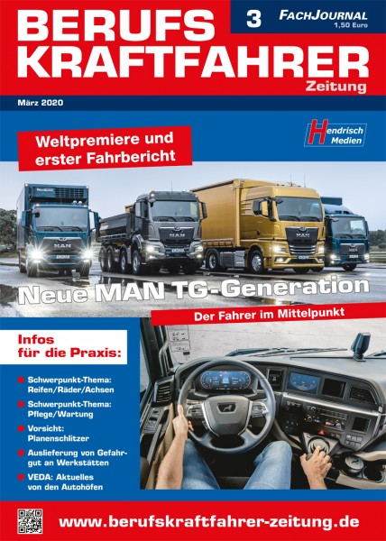 Berufskraftfahrer-Zeitung 03/2020