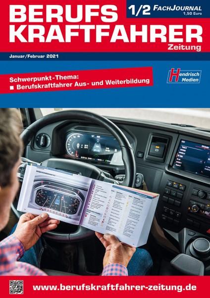 Berufskraftfahrer-Zeitung 01-02/2021