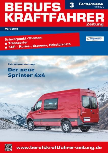 Berufskraftfahrer-Zeitung 03/2019