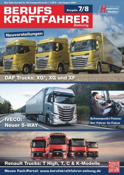 Berufskraftfahrer-Zeitung 07-08/2021