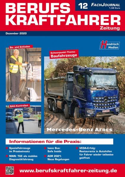 Berufskraftfahrer-Zeitung 12/2020