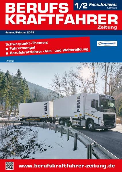 Berufskraftfahrer-Zeitung 01-02/2019