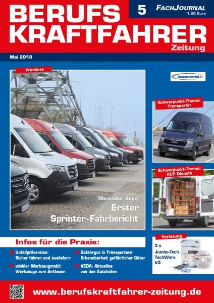 Berufskraftfahrer-Zeitung 05/2018